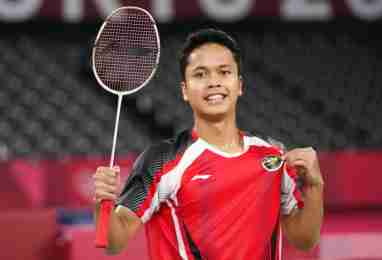 Anthony Ginting. (AP)